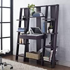 altra ladder bookcase with desk