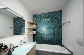 alternative wandgestaltung badezimmer ohne fliesen ideen für fliesenfreie wandgestaltung