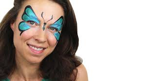 beginners butterfly face paint tutorial snazaroo youtube