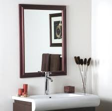 bathrooms design oval bathroom mirror wall mirrors brushed