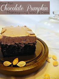 one pan chocolate pumpkin thanksgiving wacky cake mad in crafts