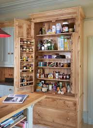 free st anding pantry with food storage kitchen contemporary and
