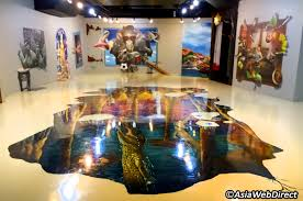magic art museum at mbk mall bangkok com magazine