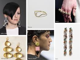 jewelry trends for spring summer 2017 materials and key motifs