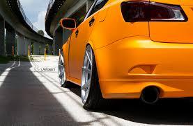 lexus f series yellow matte orange lexus is250 velgen wheels vmb8 20x9 u0026 20x10 5