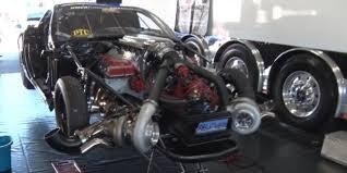 turbo corvette turbo corvette destroyed everything at the drag