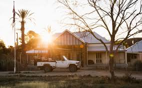 australian outback jeep explore the outback at this 1850s sheep farm turned nature