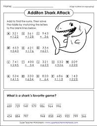check out these clever math riddle worksheets math super