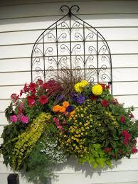 Garden Baskets Wall by Window Box Planters Wall Planters Side Planting Pamela Crawford