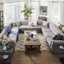 U Shaped Sectional Sofa How To Master The U Shape Pinteres