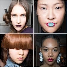 2016 hair and fashion hair and makeup fall 2016 new york fashion week popsugar