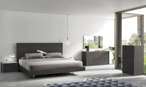 Torino Bedroom Furniture Bedroom Torino Contemporary Brown Oak Grey Platform Bed W Lights