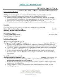 psychology intern resume examples psychology undergraduate resume