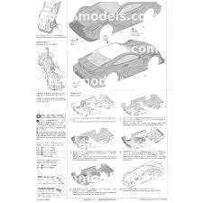 lexus parts hk 51562 1 10 scale r c eneos sustina rc f body parts set unpainted