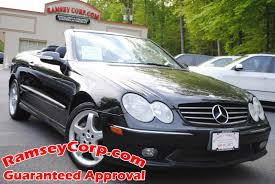 used 2004 mercedes benz clk class for sale west milford nj