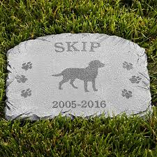 memorial stones for dogs personalized pet memorials and headstones at personal creations