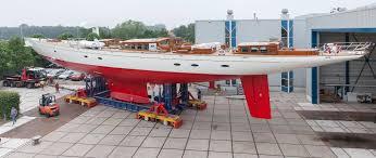 55m sailing yacht adele completes refit at royal huisman yacht