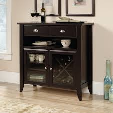 Modern Home Bar Furniture by Amazon Com Sauder Shoal Creek Sideboard Jamocha Wood Buffets