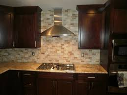 travertine kitchen backsplash traditional kitchen solarius slab and tumbled travertine