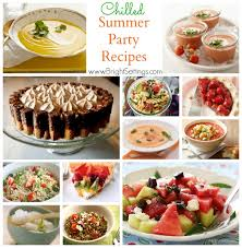 Easy Summer Entertaining Menu - quick easy summer party recipes food easy recipes