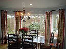 kitchen bay window decorating ideas window curtain inspirational curtains for a bay window ideas