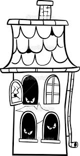 7 exceptional haunted house coloring page ngbasic com