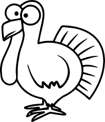 informative cooked turkey drawing vector draw doodle sketch