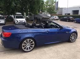 Bmw M3 Convertible - excellent condition metallic le mans blue bmw m3 convertible dct