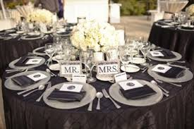 wedding plate settings 58 black and white wedding table settings happywedd