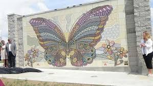 butterfly mural mercy park joplin mo missouri