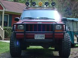 jeep liberty light bar all xj u0027s with roof rack or light bar jeepforum com