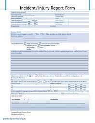 hr management report template hr management report template unique incident report forms toreto