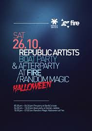 halloween party names saturday 26 10 republic artists thames boat party and afterparty