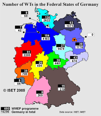 German States Map by Renknow Net Home