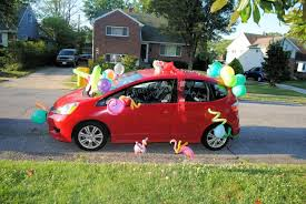 the best birthday gift balloons confetti on my car uncustomary