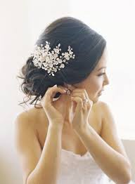 bridal hair pieces best 25 hair pieces for wedding ideas on boho wedding