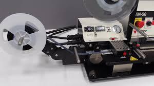 tm 50 manual taping machine youtube