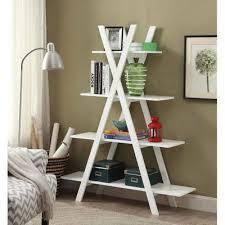 5 Tier Bookshelf Ladder Best 25 White Ladder Bookshelf Ideas On Pinterest