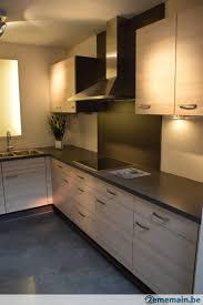 cuisine effet bois cuisine équipée model expo impulse imitation bois htva a vendre