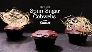 how to make spun sugar cobwebs sunset youtube