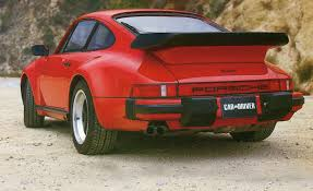 porsche 911 whale tail turbo 1986 porsche 911 turbo archived road test u2013 review u2013 car and driver