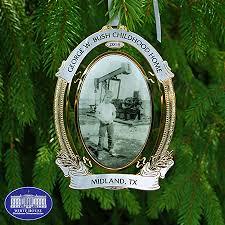 george w bush pumpjack ornament