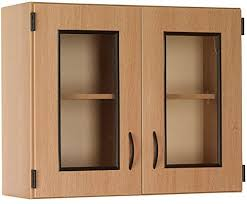 glass kitchen wall unit doors wall display cabinet with framed glass doors