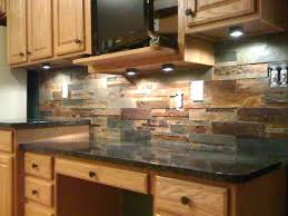 rock kitchen backsplash rock tile backsplash rock rustic kitchen kitchen subway tile rock