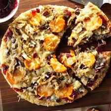 thanksgiving lover s pizza recipe taste of home