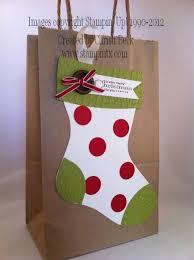 christmas paper bags christmas gift bag craft fair gift