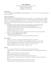 brilliant ideas of patient care resume sample for your example