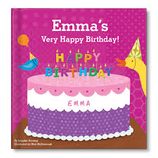 my very happy birthday personalized board book for girls the