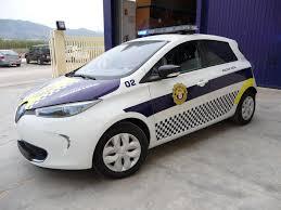 renault zoe electric renault zoe police car indusauto