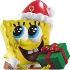 spongebob squarepants plush tree ornament